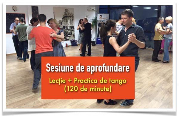 sesiune de aprofundare tango tangent
