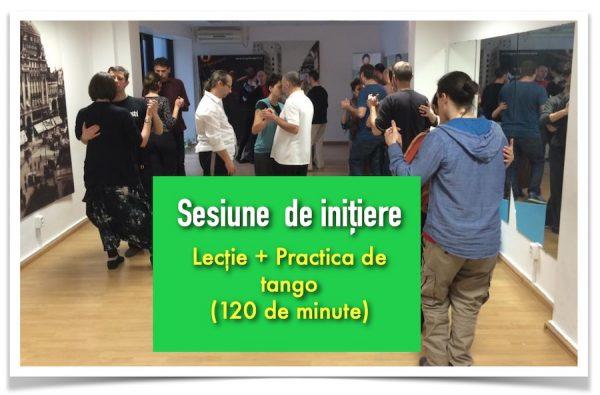 sesiune de initiere tango tangent